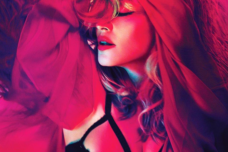 MDNA, le nouvel album de Madonna et son 12e en  carrière, sort...