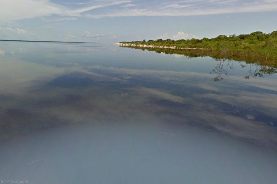 Google cartographie maintenant l'Amazonie.... (Photo: Google)