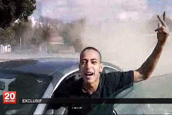 Mohamed Merah dans une vidéo d'un rodéo, montrée... (Photo: Reuters)