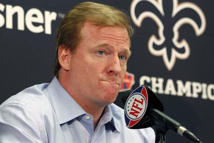 Le commissaire de la NFL, Roger Goodell, a... (Photo: AP)