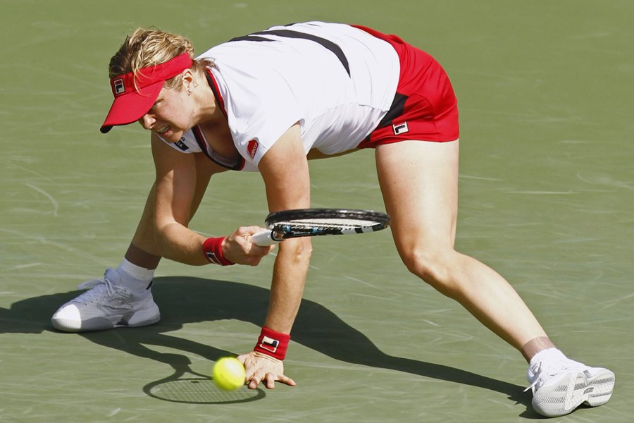 Kim Clijsters... (Photo: Reuters)