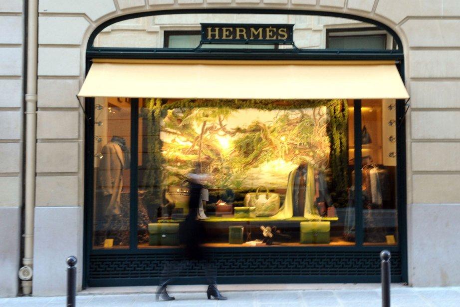 Ventes, bénéfices, marge: Hermès a signé en 2011 la plus belle... (Photo AFP)