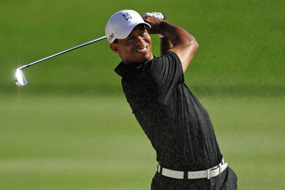 Tiger Woods, sextuple champion du tournoi de Bay... (Photo : David Manning, Reuters)