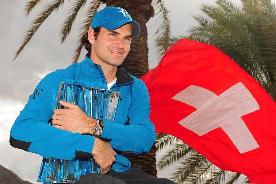 Roger Federer a remporté le tournoi d'Indian Wells... (Photo: AFP)