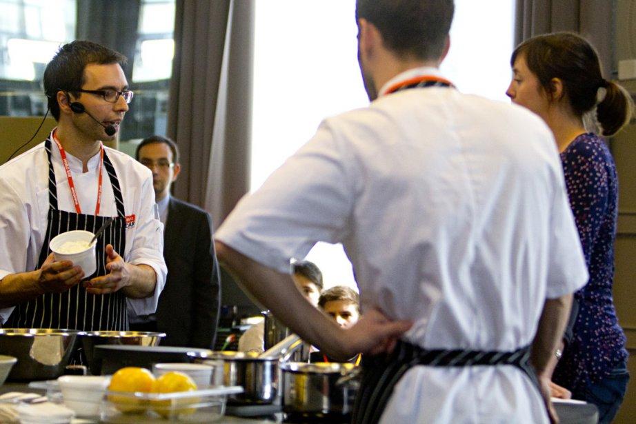 Le cours de maître du Québécois Patrice Demers... (Photo François Roy, La Presse)