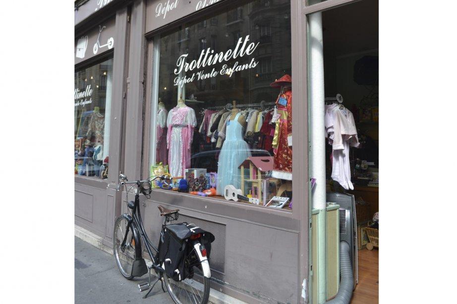 Boutique dépôt-vente pour enfants Trottinette.... (Photo Violaine Ballivy, La Presse)