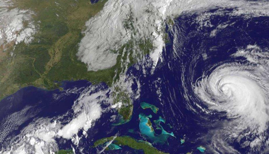 Une image de la Terre à partir d'un... (Photo AFP)