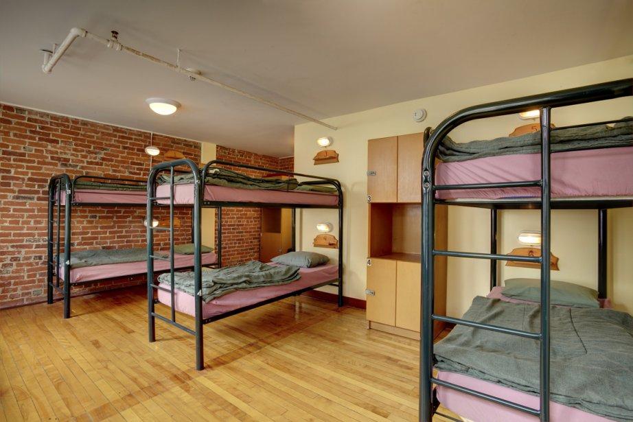 L'Auberge internationale de Québec offre de vastes chambres... (Photo fournie par l'Auberge internationale de Québec)