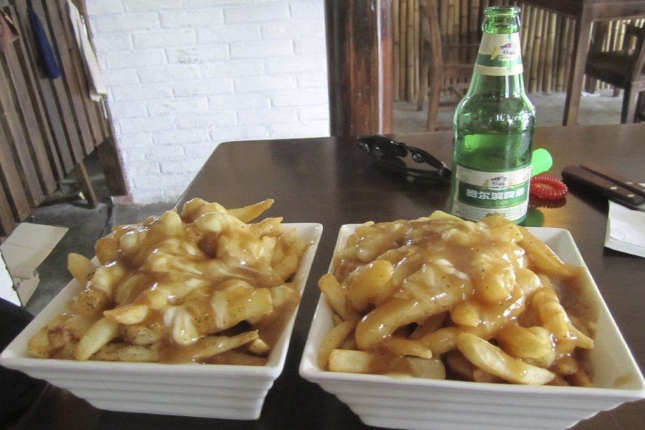 Au restaurant The Box, à Pékin, la poutine,... (Photo Jérôme Labbé, collaboration spéciale La Presse)