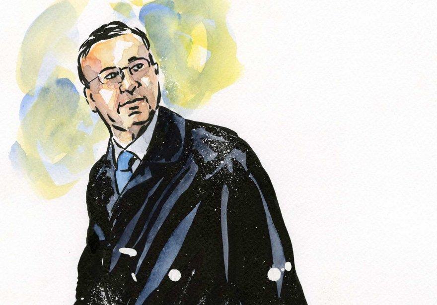 François Trahan... (Illustration André Rivest)