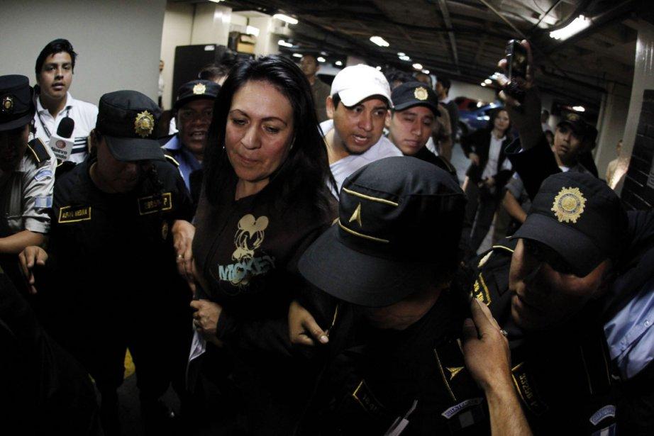 La directrice de la police guatémaltèque entre 2008...