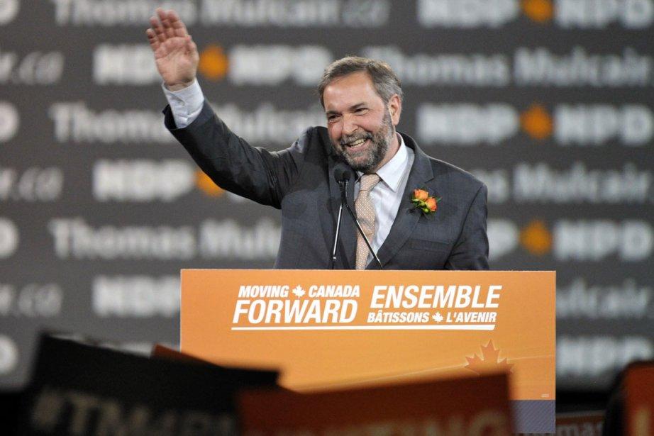 Thomas Mulcair, candidat au leadership du Nouveau Parti... (Photo Reuters)