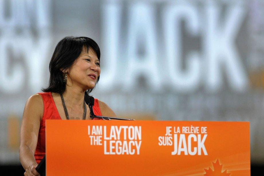 Olivia Chow, la veuve de Jack Layton.... (Photo Reuters)
