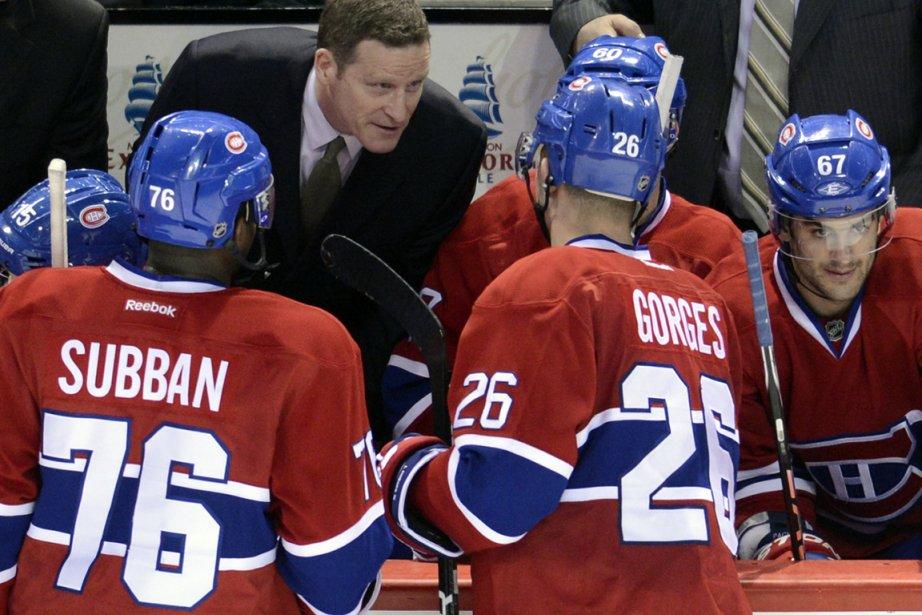 Selon Randy Cunneyworth, ses joueurs ont joué avec... (Photo Bernard Brault, La Presse)