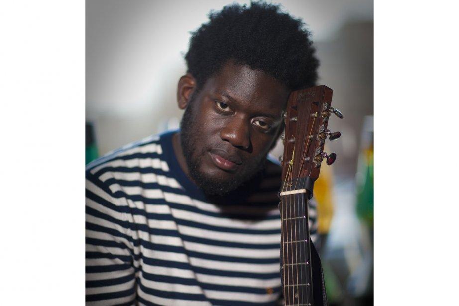 Michael Kiwanuka a ét nommé l'artiste le plus... (Photo André Pichette, La Presse)