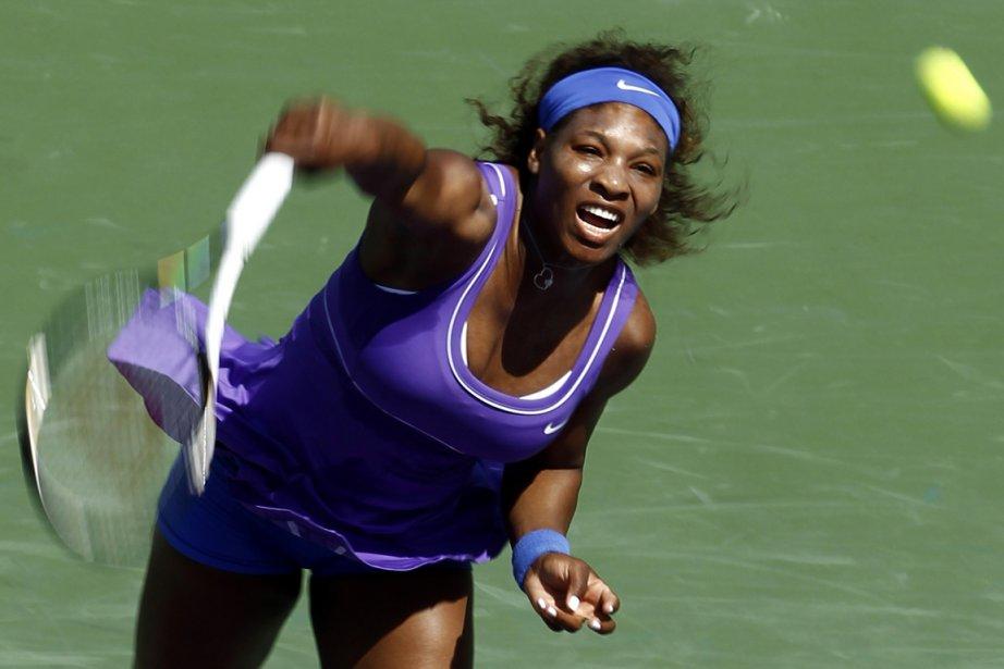 Serena Williams a fait contrepoids à 20 fautes... (Photo Reuters)