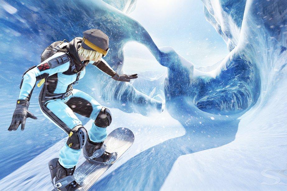 Le jeu de planche à neige SSX... (Photo: tirée de l'internet)