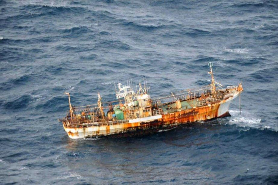 L'embarcation a été identifiée comme venant de Hokkaido,... (Photo: PC)