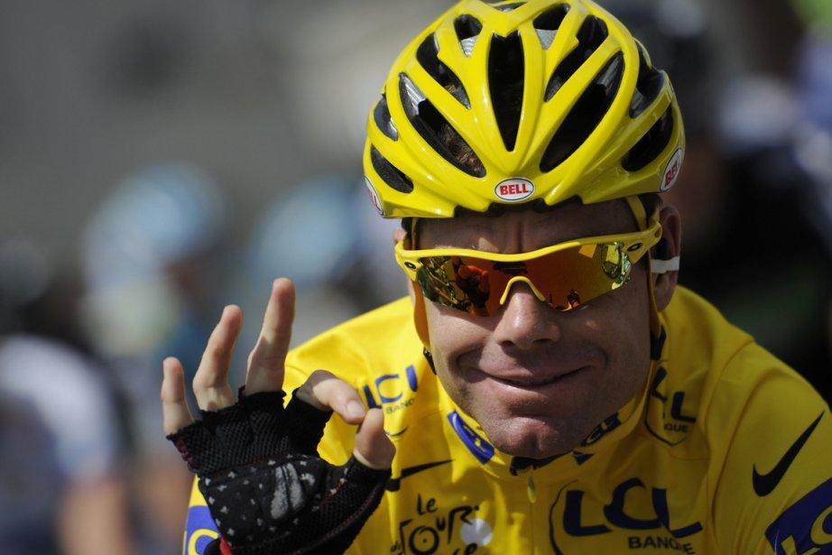 Pour son retour dans une course française, Cadel... (Photo : Lionel Bonaventure, archives AFP)