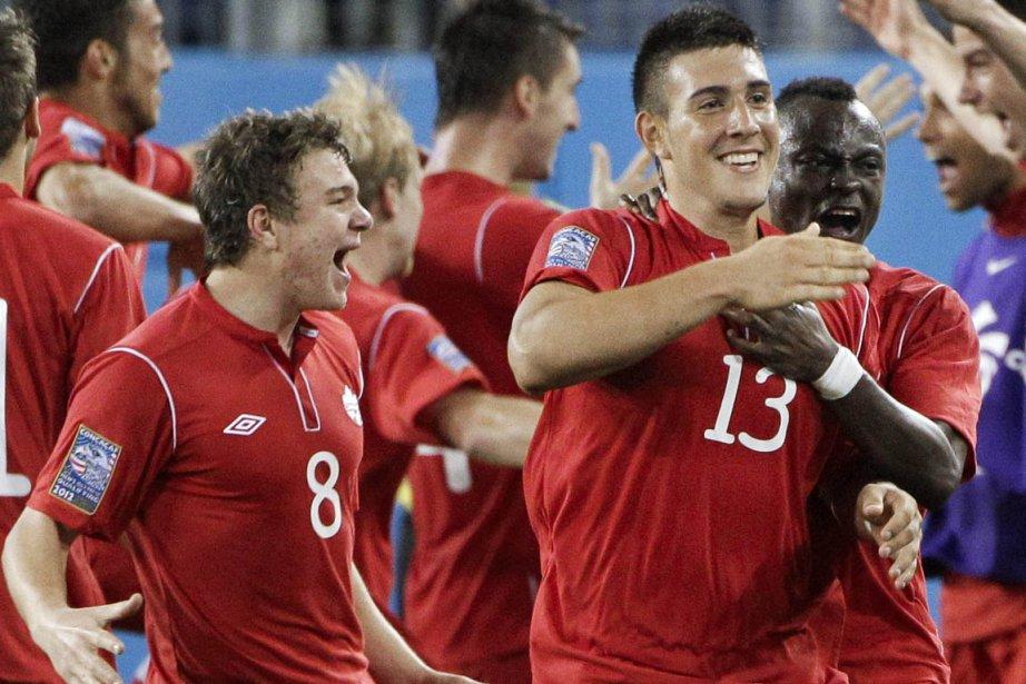 L'équipe canadienne de soccer masculin ne s'est pas... (Photo : Mark Humphrey, AP)