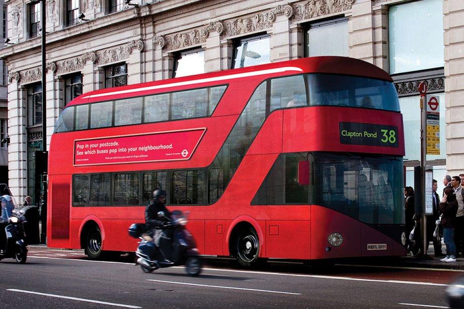 Le nouveau Routemaster.... (Photo AFP)