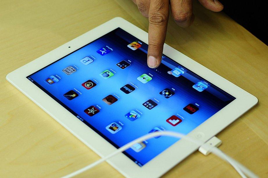 La tablette a réussi aussi à s'imposer sur... (Photo AFP)