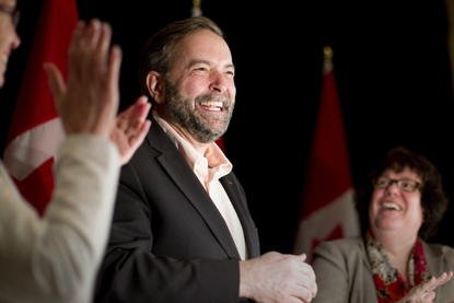 Thomas Mulcair, chef du Nouveau Parti démocratique.... (Photo PC)