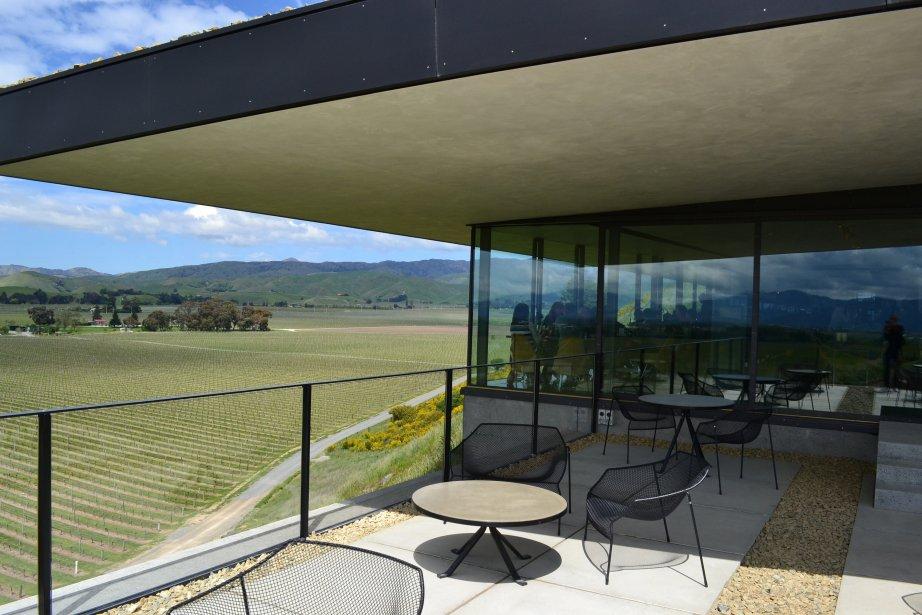Le nouveau restaurant du domaine Brancotte, à Blenheim. Une vue a couper le souffle. | 26 mars 2012