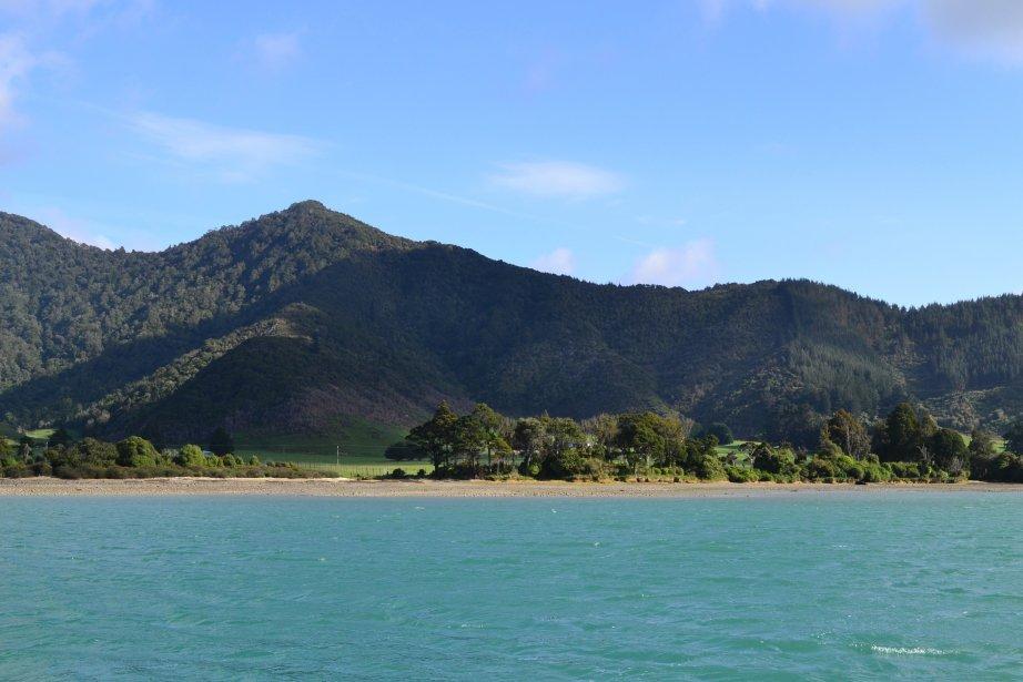 Les vallées submergées de Marlborough Sounds: un paysage qui semble presque vierge. | 26 mars 2012