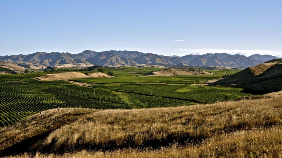 Paysage de la région de Marlborough. | 26 mars 2012