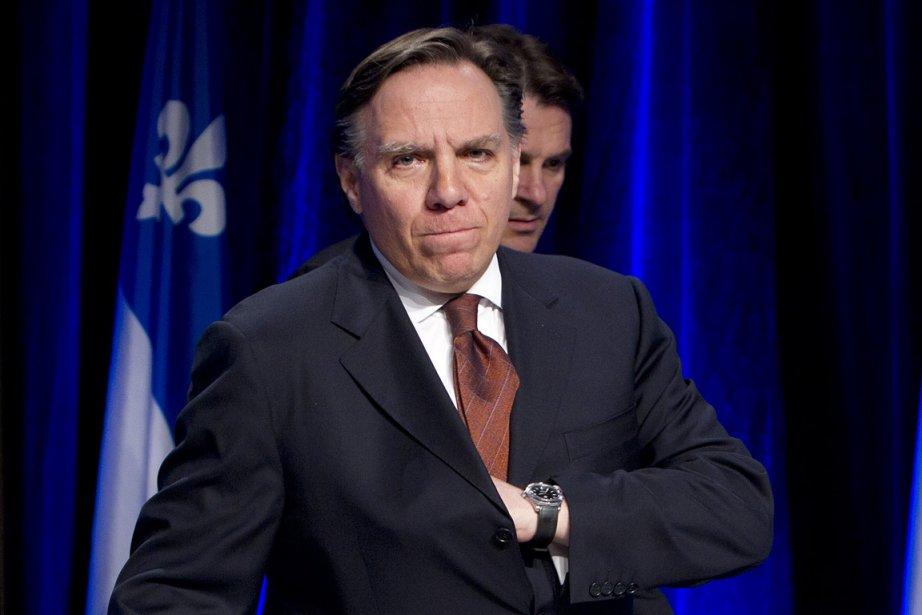 La chute de François Legault dans les sondages... (Photo: Robert Skinner, archives La Presse)