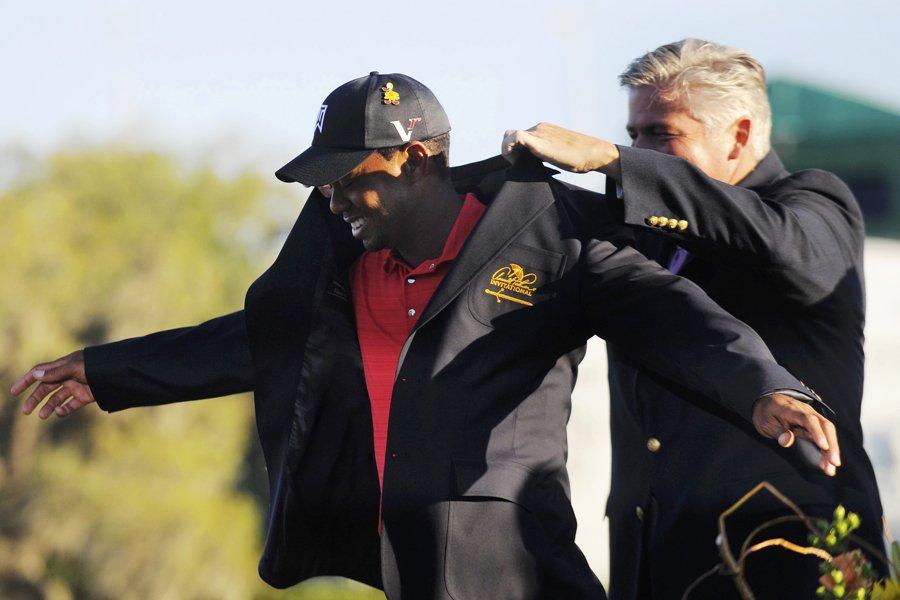 Tiger Woods a remporté son premier tournoi sur... (Photo: Reuters)