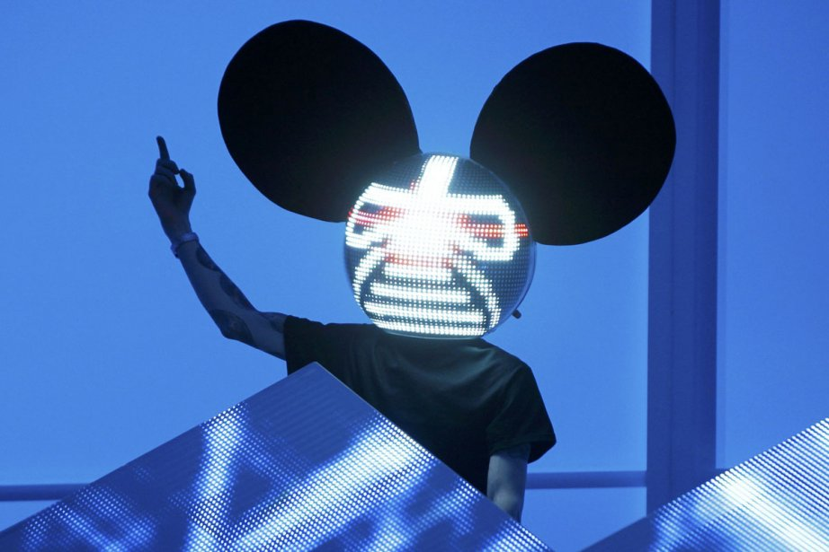 Deadmau5... (Photo: Danny Moloshok, Archives Reuters)