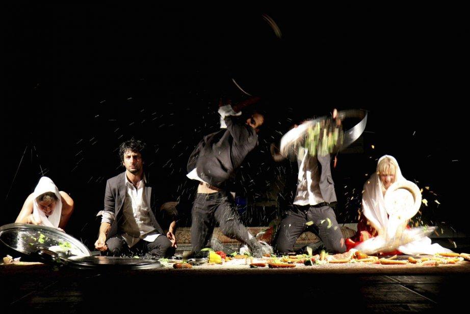 La pièce Irakese Geesten du dramaturge irakien Mokhalled.... (Photo fournie par le FTA)