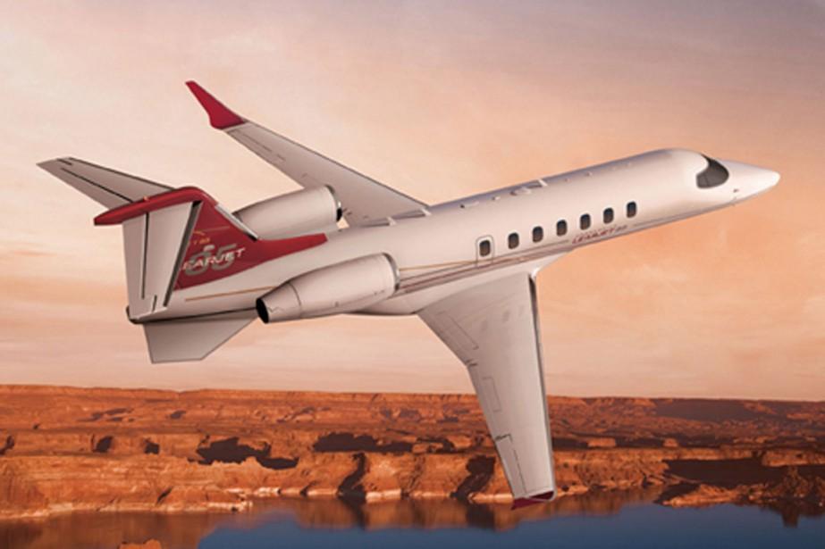 Learjet 85 de Bombardier... (Photo fournie par Bombardier)