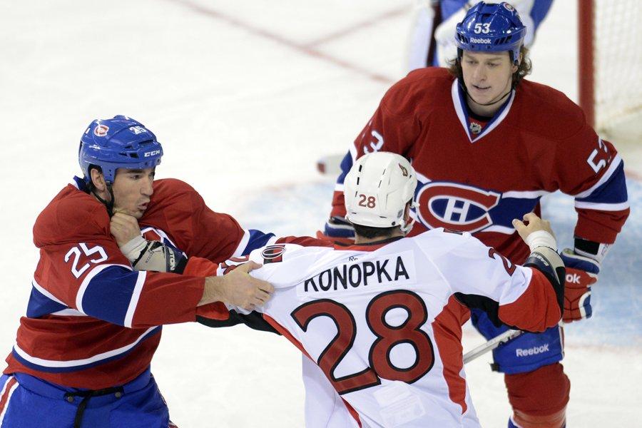 Le Canadien présente une fiche de 5-5-3 depuis... (Photo: Bernard Brault, La Presse)