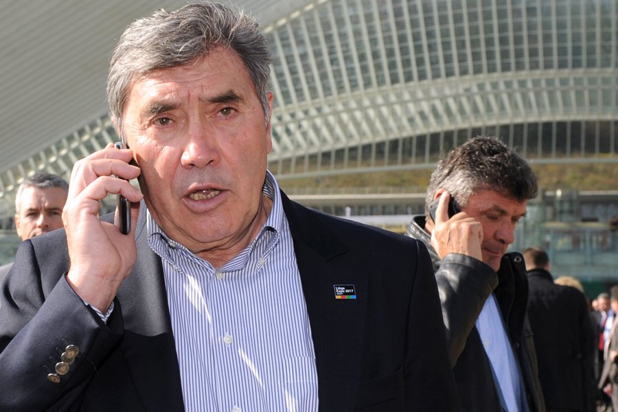 Eddy Merckx... (Photo : archives AFP)
