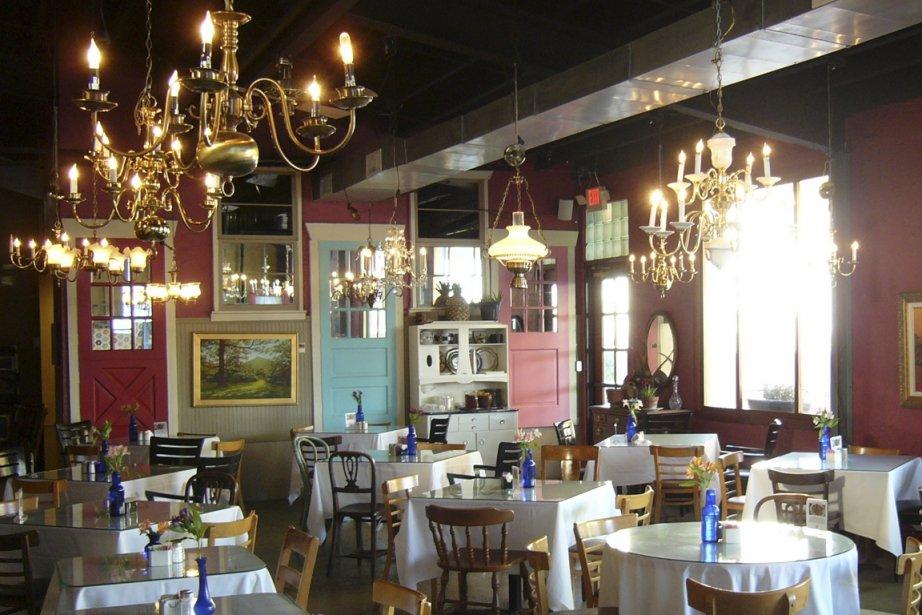 The Café propose une cuisine familiale du Sud.... (Photo Simon Chabot, La Presse)