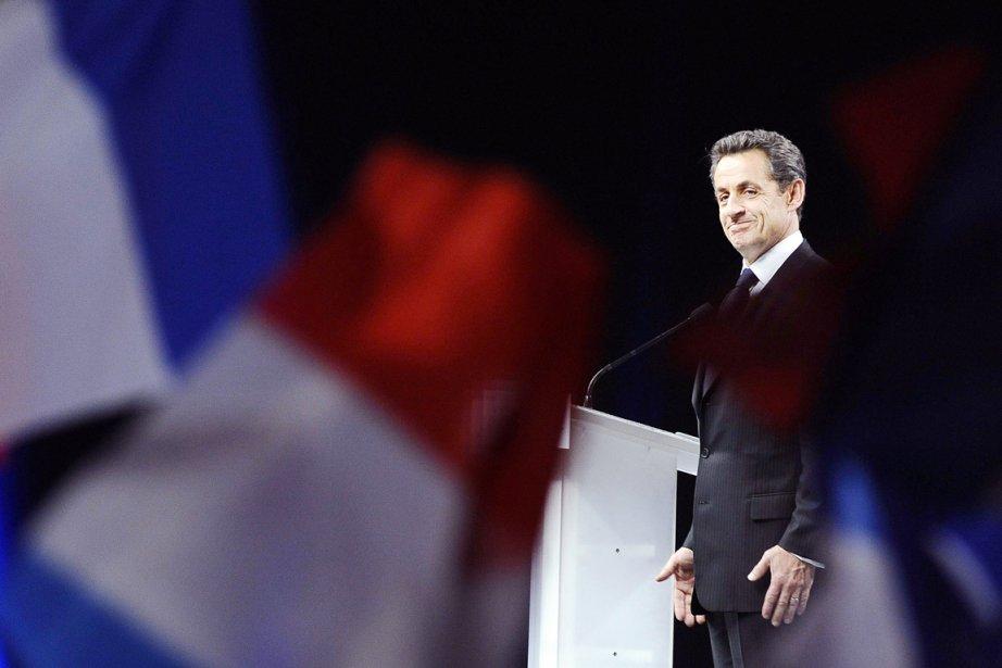 Le président sortant, candidat à sa succession, Nicolas... (Photo: Jean-Sébastien Évrard)