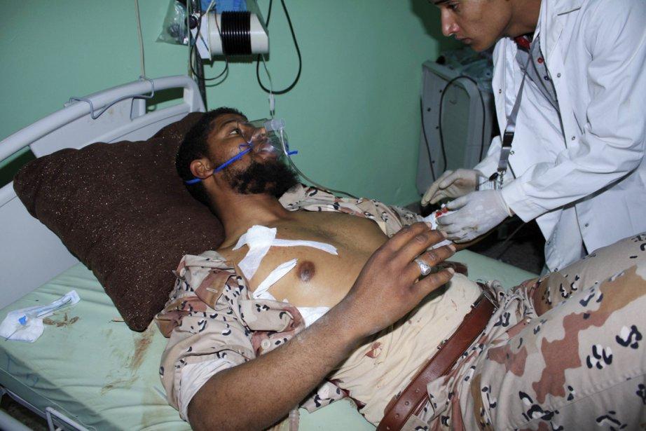 Des affrontements tribaux survenus à Sebha dans le... (Photo: Reuters)