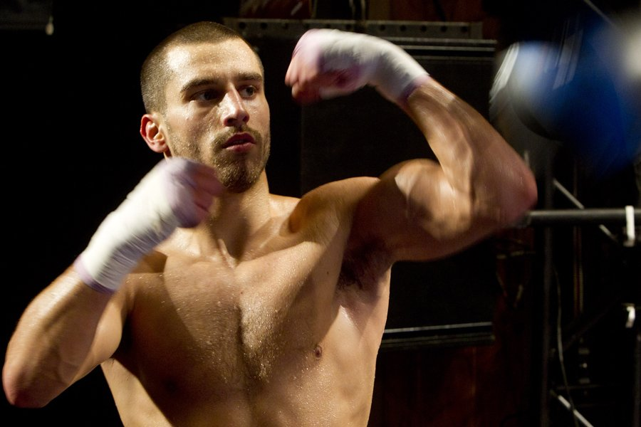 David Lemieux... (Photo: Robert Skinner, La Presse)