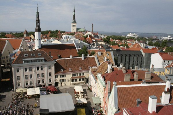 Tallinn, capitale de l'Estonie.... (Photo Frederick Lavoie, La Presse)