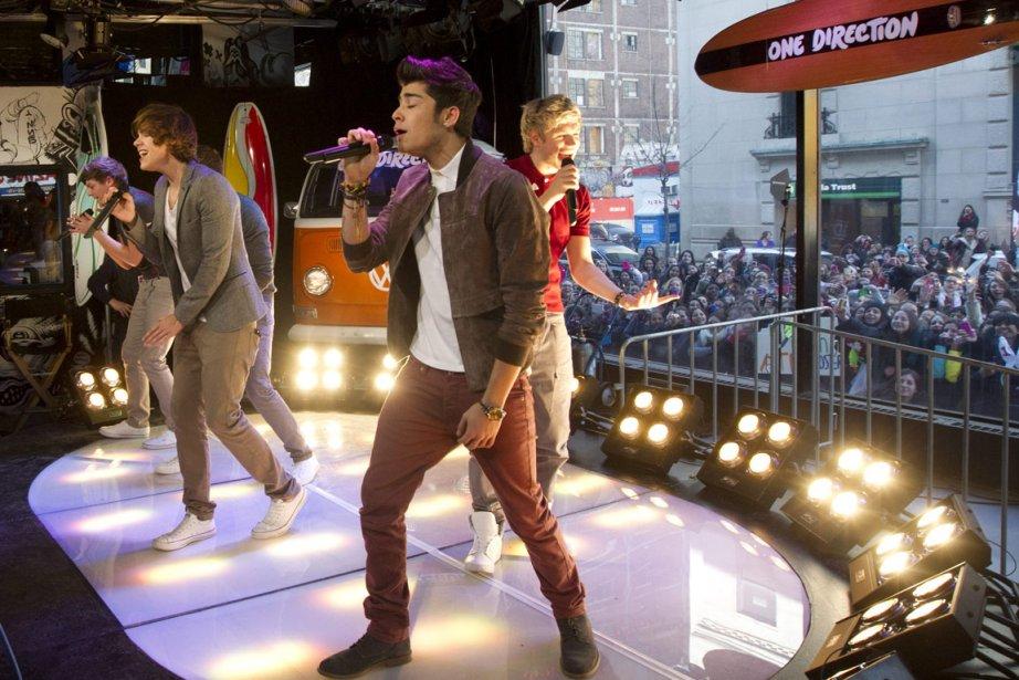 Les cinq chanteurs sont peut-être les hommes les... (Photo: Robert Skinner, La Presse)