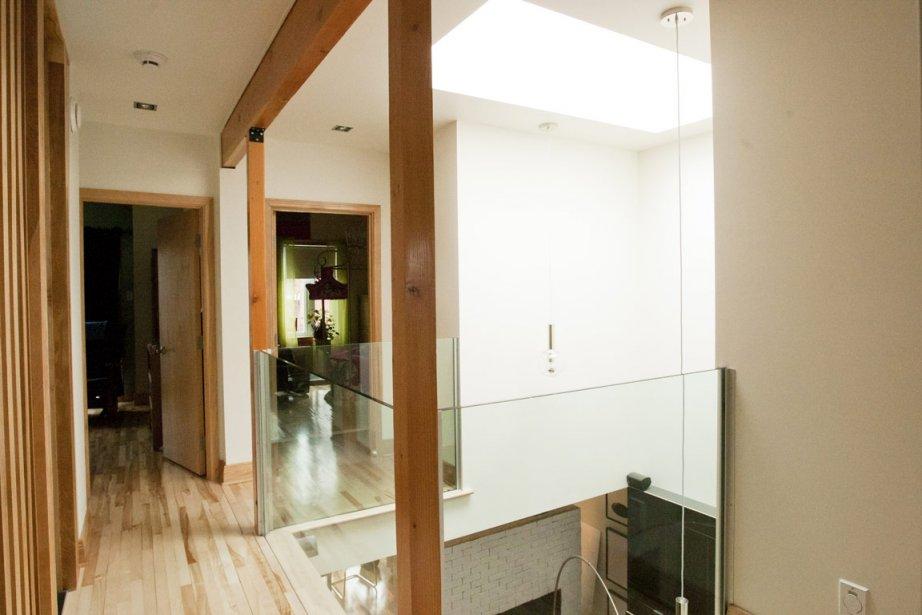 Le bois, comme matériau, investit aussi l'habitation d'une... (Photo: Ninon Pednault, La Presse)