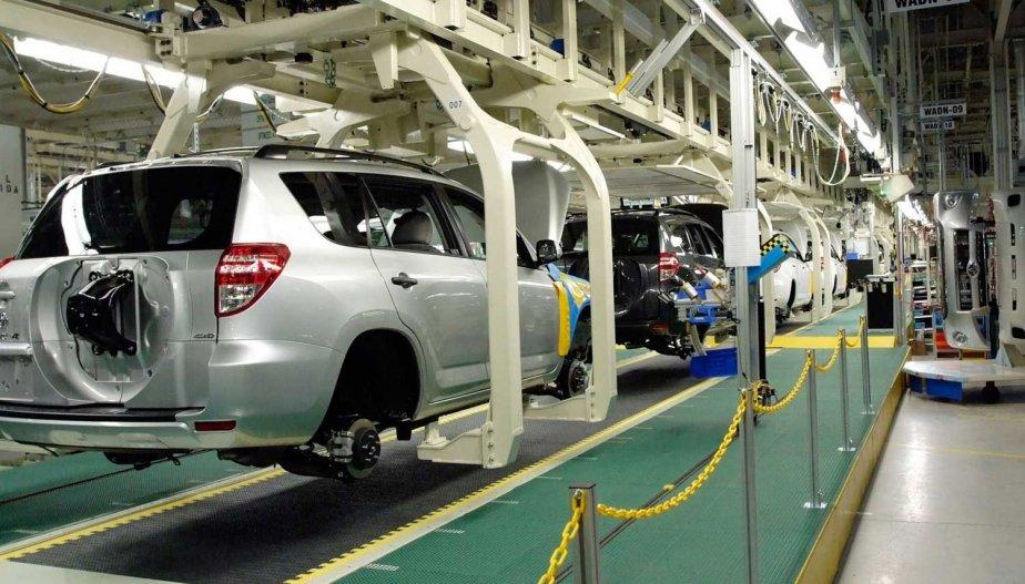 L'indice des prix des produits finis établi par... (Photo fournie par Toyota)