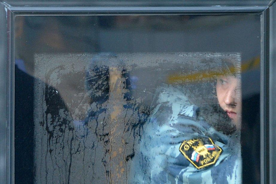 Les révélations et scandales sur des violences policières... (Photo: Kirill Kudryavtsev, Archives AFP)