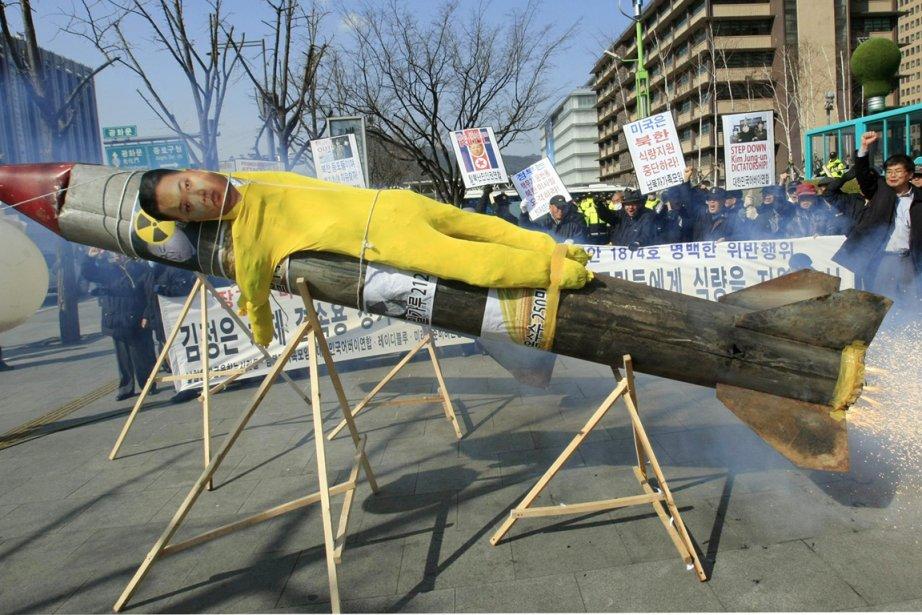 «Nous avons été forcés de suspendre notre assistance... (Photo: Lee Jin-man, AFP)