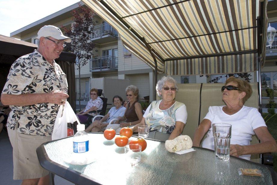 Coopérative de logements pour personnes âgées à Vaudreuil-Dorion.... (Photo Alain Roberge, archives La Presse)