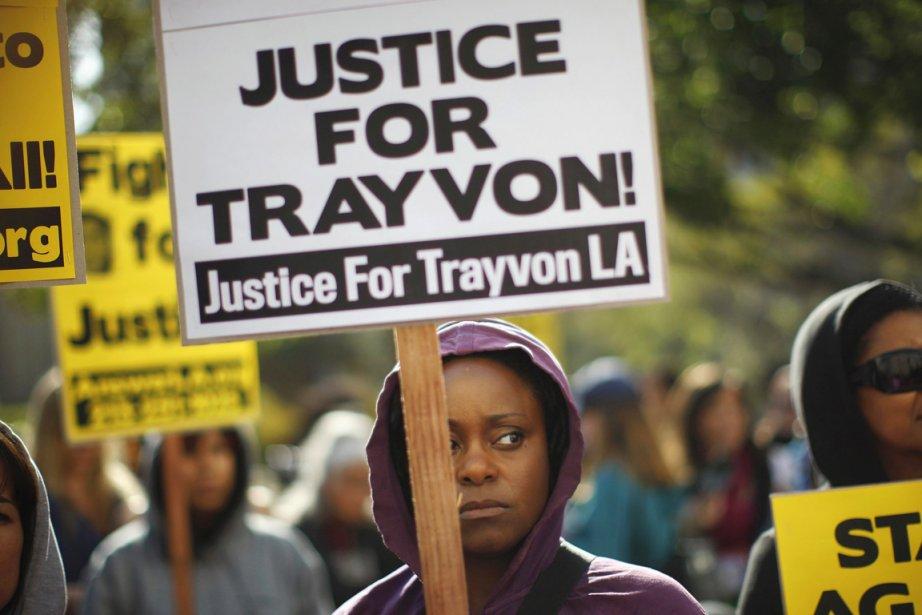 Trayvon Martin, qui n'était pas armé, a été... (Photo: David McNew, Reuters)