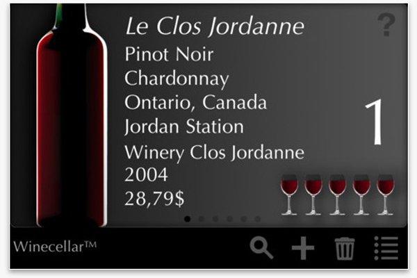 L'application The Winecellar a été créée par deux...